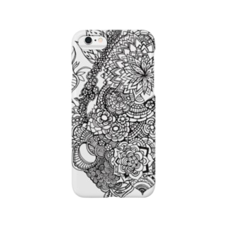 psychedelic flower Smartphone cases