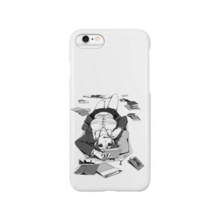 寝っころGIRL Smartphone cases