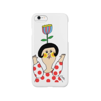 あたまにお花 Smartphone cases