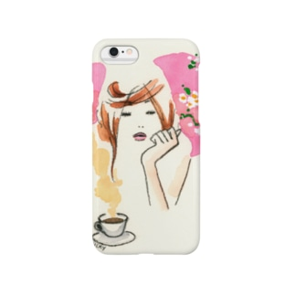 coffee&girl Smartphone cases
