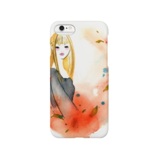 autumn girl Smartphone cases