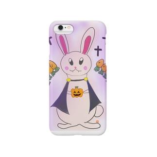 ハロウィン うさぎ Smartphone cases