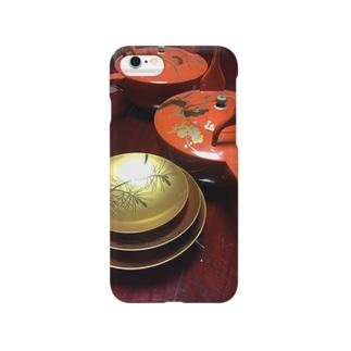 貴重な漆器 Smartphone cases