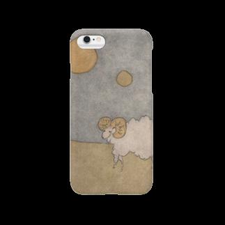 33 STOREの月と羊 Smartphone cases