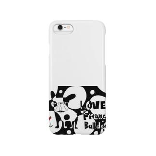LOVE FRENCH-BULLDOG Smartphone cases