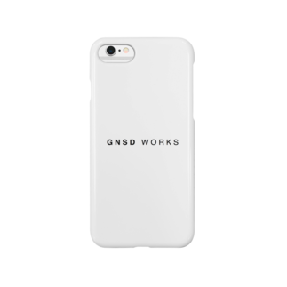 GNSD WORKS ロゴ スマートフォンケース