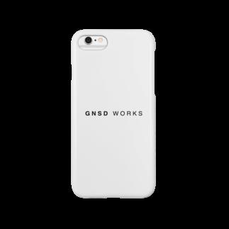 gnsdworksのGNSD WORKS ロゴスマートフォンケース