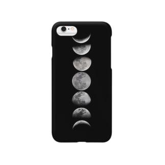 月の満ち欠け Smartphone cases