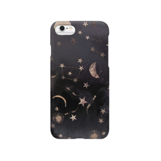 かわいげガールの月と星 Smartphone cases