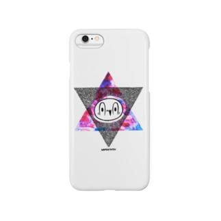 カメントツヘキサグラム Smartphone cases
