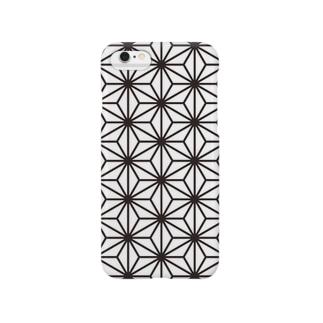 """asanoha""""麻の葉"""" Smartphone cases"""