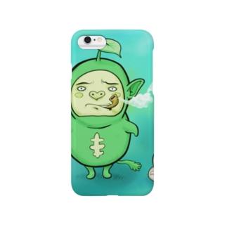 ポックル&ピーちゃん Smartphone cases