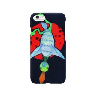星を渡る鳥 Smartphone cases
