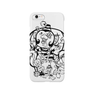マネーモンキー Smartphone cases