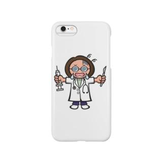 なにかとつらい女医スマホケース Smartphone cases