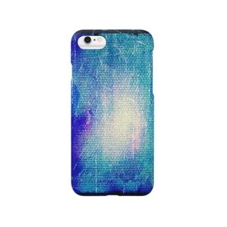 青 Smartphone cases