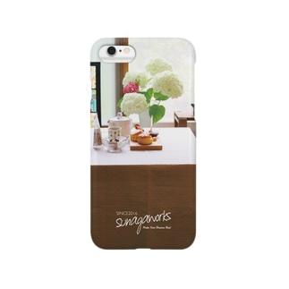 3月CAFE MEDERU Smartphone cases