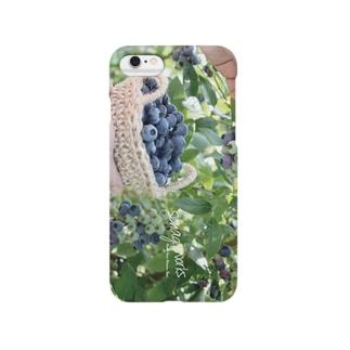 8月三谷果樹園 Smartphone cases