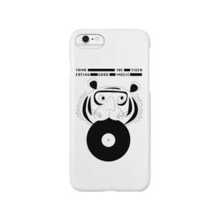 Eating Good Music - TAMA THE TIGER Smartphone cases
