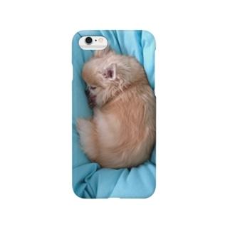 モッフリぺろ吉 くん Smartphone cases