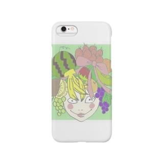 フルーツ娘 Smartphone cases