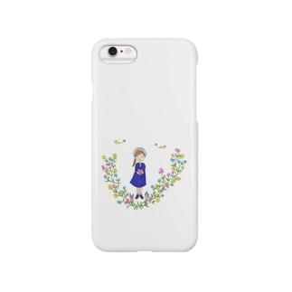 幸せを運ぶ女の子 Smartphone Case