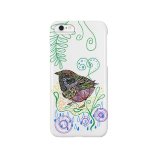 続-雀 Smartphone cases