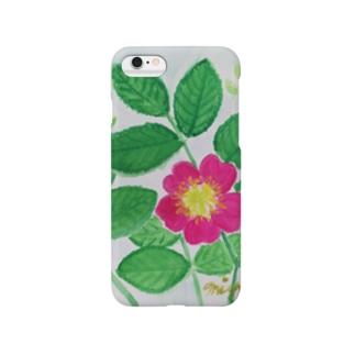 華やぐ季節      野ばら Smartphone cases