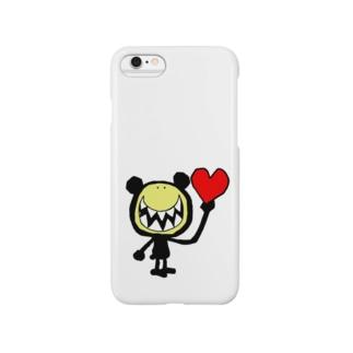 ラブクマ Smartphone cases