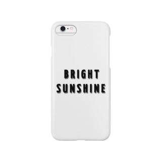 BRIGHT SUNSHINE Smartphone cases