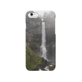 滝の癒し Smartphone cases