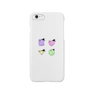 カルテッt! Smartphone cases