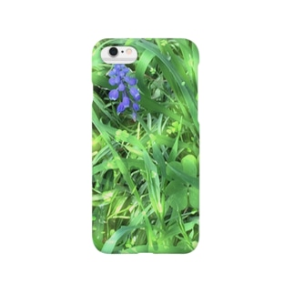 きらきら野の花   春 Smartphone cases