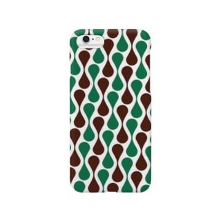 レトロパターン Smartphone cases