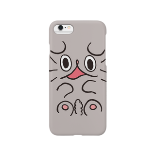 アトリエぶーのねこのぶーちゃん(つぶれる) Smartphone cases