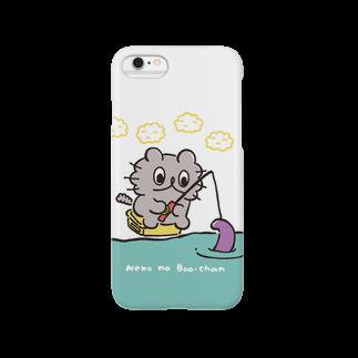 アトリエぶーのねこのぶーちゃん(つりぼり) Smartphone cases