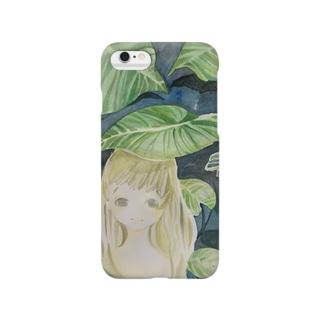 蓮と少女 Smartphone cases