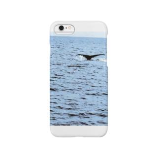 クジラの尾びれ Smartphone cases