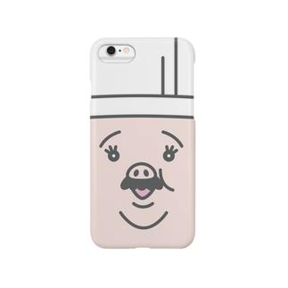 OJISAN FACE CASE Smartphone cases