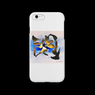 創作文字とコトバ。のHIRAMEKI【閃】 Smartphone cases