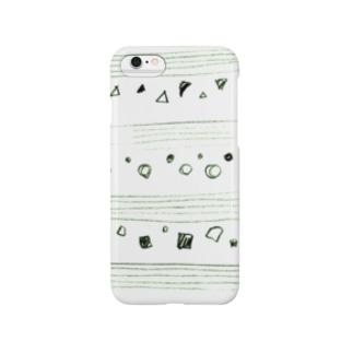 まるさんかくしかくとごせん*green Smartphone cases