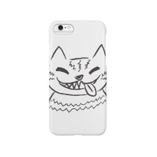 チェシャ猫のべっ Smartphone cases