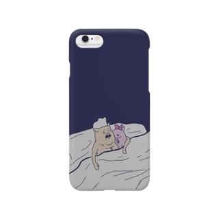 ベッドイン Smartphone cases