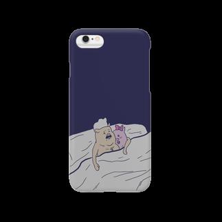 TONKATSU GOODS SHOPのベッドインスマートフォンケース