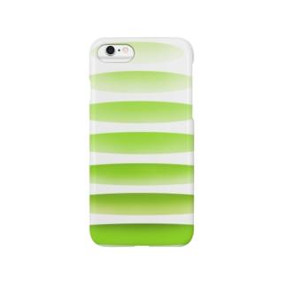 連なる輪 カラーその2 Smartphone cases