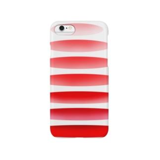 連なる輪 カラーその3 Smartphone cases