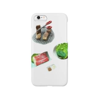 焼肉が食べたい。 Smartphone cases