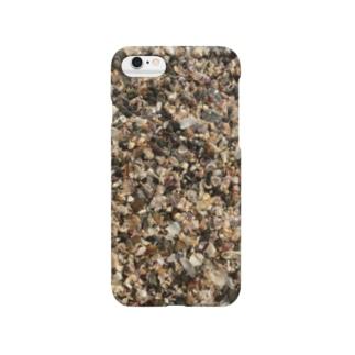 水の下の貝殻たち Smartphone cases