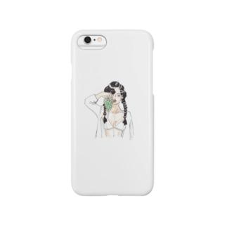 ぶどう女 Smartphone cases