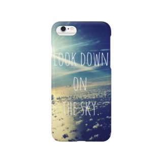 look down. Smartphone cases